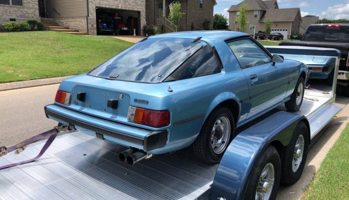 Blue Classic: 1980 Mazda RX-7