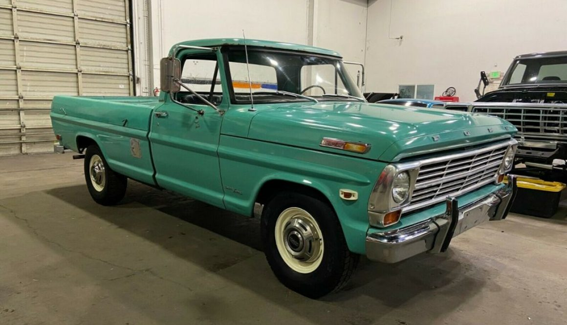 The Real Teal Deal: 1969 Ford F-250 Custom Cab