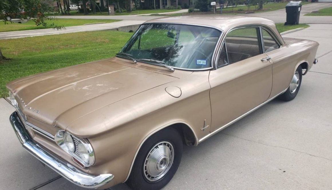Original Paint: 1964 Chevrolet Corvair