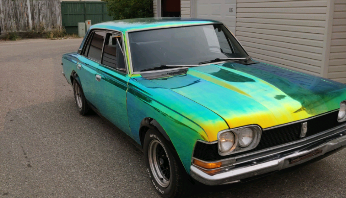 Chameleon V8 Swapped: 1969 Toyota Crown