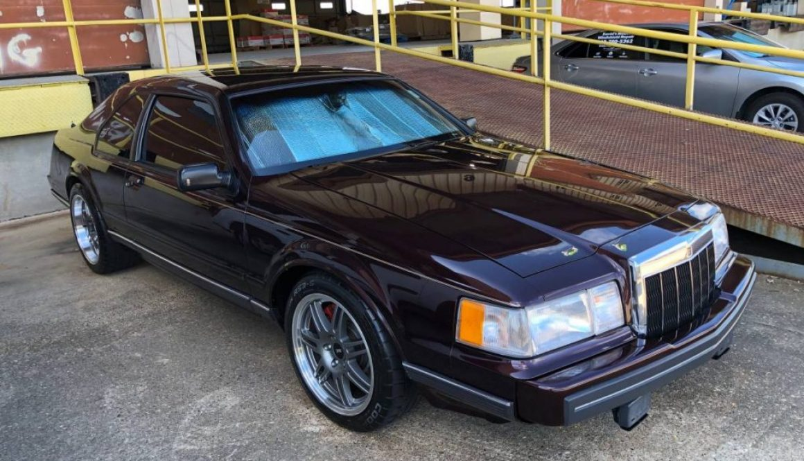 600 Horsepower: 1988 Lincoln Mark VII