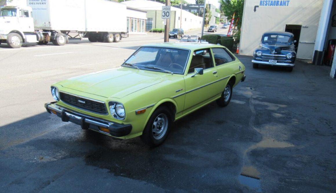Toyoglide Survivor: 1977 Toyota Corolla Liftback