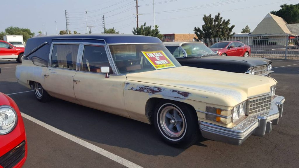 Just For The Badge: 1974 Cadillac Fleetwood Hearse ...