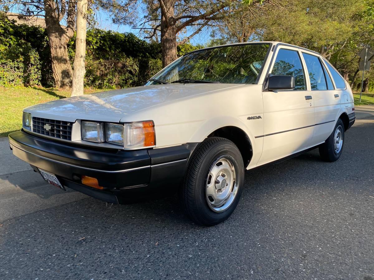 Yummy NUMMI: 1987 Chevrolet Nova Hatchback - DailyTurismo