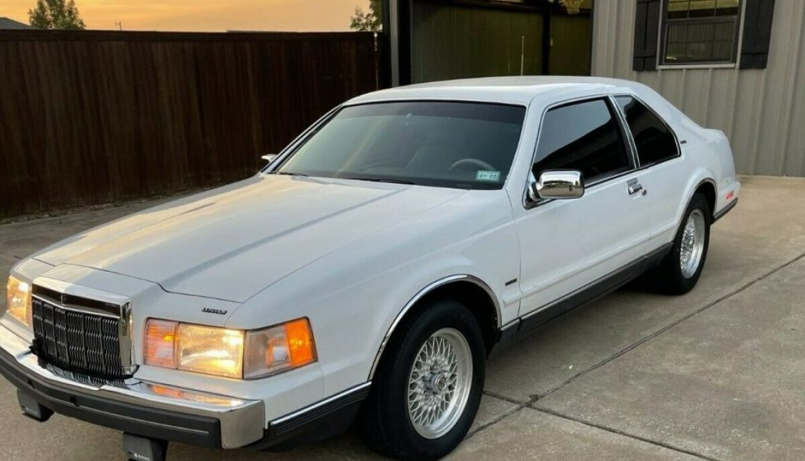 High Water Mark: 1990 Lincoln Mark VII LSC
