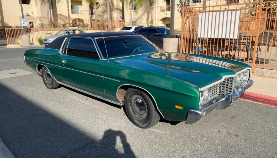 Big Green Coupe: 1971 Ford Galaxie 500 Coupe